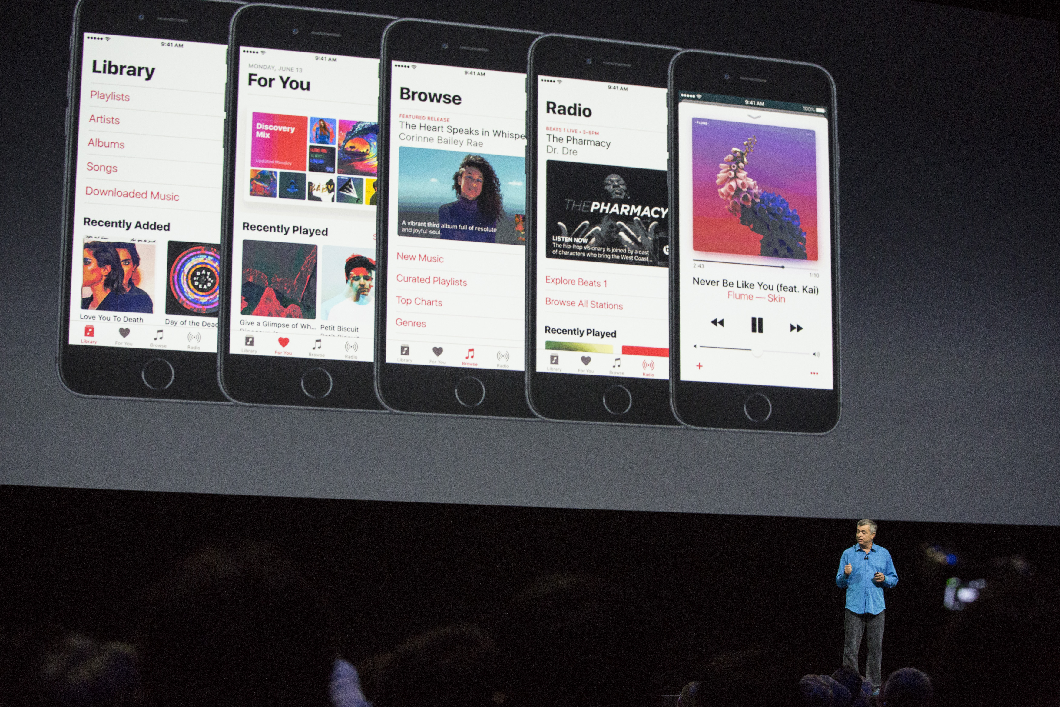 New apple music streaming service