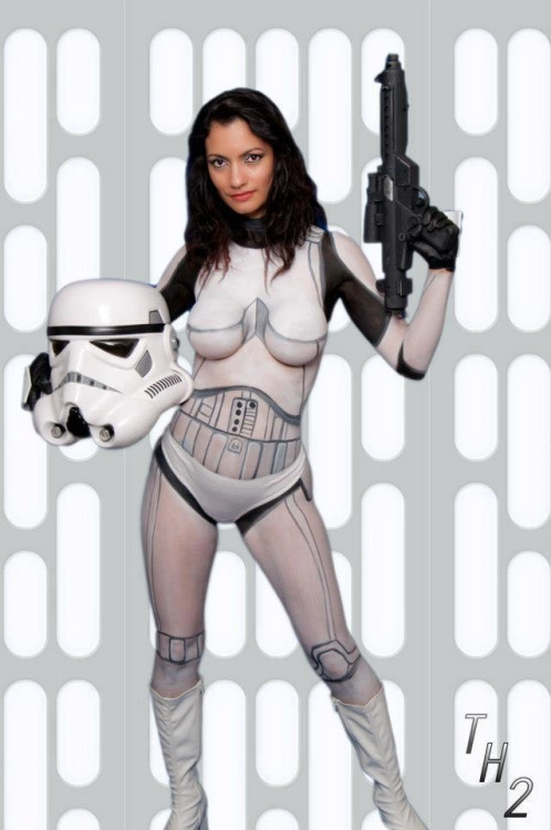 Sexy star wars cosplay naked